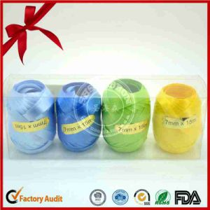 Custom 7mm*15m Four Color Cmyk Printed Ribbon Egg pictures & photos