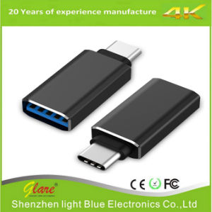 High Speed USB-C to USB-a 3.0 Adapter for USB Type-C Devices pictures & photos