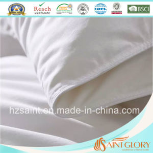 100% Cotton Fabric Down Comforter White Goose Feather and Down Quilt pictures & photos