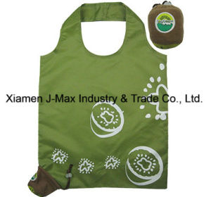 Foldable Shopper Bag, Fruits Kiwifruit Style, Reusable, Lightweight, Grocery Bags and Handy, Gifts, Promotion, Accessories & Decoration pictures & photos