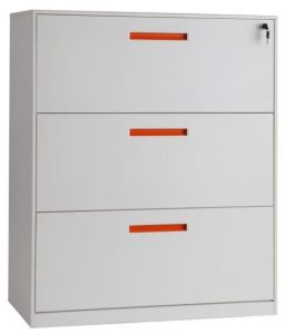 White 3 Drawer Lateral File Cabinet Metal pictures & photos