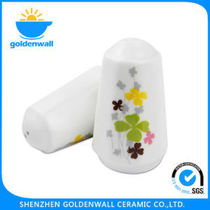 7.6cm Height Salt / Pepper White Porcelain Shaker pictures & photos