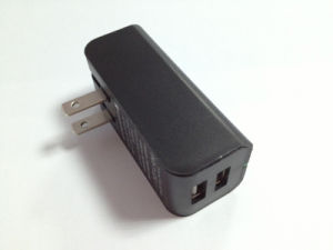 Folding Us Plug 2 Dual USB Cell Phone Universal Charger pictures & photos