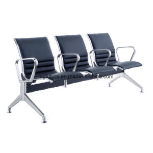 Full-Cushioned Stainless Steel Airport Chair with Metal Armrest pictures & photos