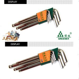 Matt Nickeled Extra Long Arm Hex Key/ Allen Key/ Hex Key Set pictures & photos
