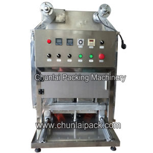 Desktop Semi Automatic Tray Sealing Machine pictures & photos