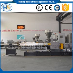 PC ABS Anti Flaming Strengthening Material Twin Screw Extruder pictures & photos