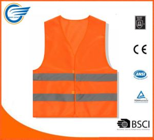 2017 Hot Selling High Visibility Reflective Vest Work Wear Vest pictures & photos