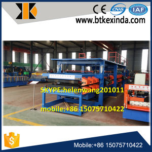 EPS and Rock Wool Sandwich Panel Roll Forming Machine pictures & photos