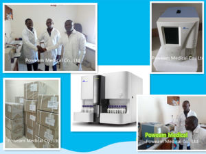 Hospital Five Differential 5 Part Hematology Analyzer (HA-7000) pictures & photos