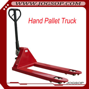 Hand Pallet Truck, 2.5-Ton Silver Pump Nylon Wheel pictures & photos