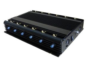 Hotsale All Bands Cell Phone Jammer with 12 Long Omni Antennas RF Jammer 433MHz pictures & photos