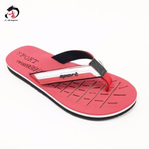 Red Color Cool Style Man Slipper pictures & photos