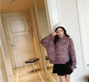 Fashion Ladies Girls Woman Knitwear Hand Knitted Sweater pictures & photos