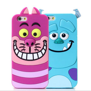Silicone 3D Cartoon Cute Cheshire Cat Sulley Tigger Patterns for Zte V6plus A315 A310 A510 X7plus Phone Case