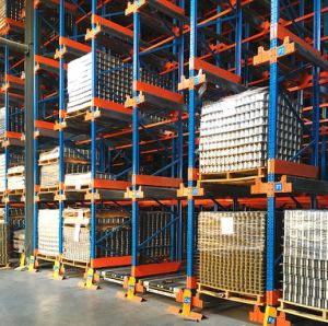 Pallet Shuttle for High Density Storage pictures & photos