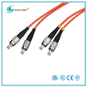 FC/PC-FC/PC mm 62.5/125 Duplex 2m Fo Patch Cord pictures & photos