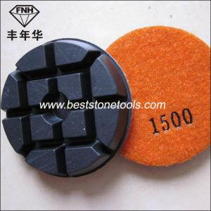 Soft Concrete Floor Dry Diamond Polishing Pad pictures & photos