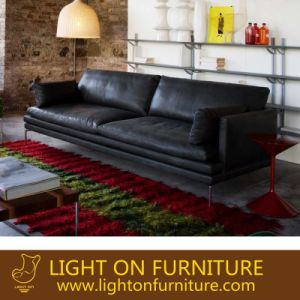 Modern Italian Style Leather Sofas for Hotel (L019) pictures & photos