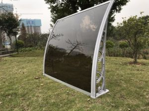 5.2mm Hollow PC Polycarbonate Awning for Gazebo/Patio/Balcony pictures & photos