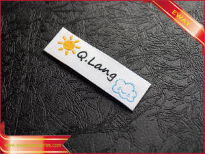 Aapparel Cotton Main Label Woven Clothing Neck Label pictures & photos