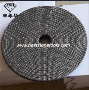 Wet Diamond Electroplated Stone Glass Polishing Pads
