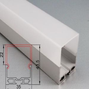 4237 LED Aluminium Profile Extrusion Pendant Linear Light for Striplight pictures & photos