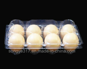 PVC Clear 8 Eggs Blister Packaging Box pictures & photos