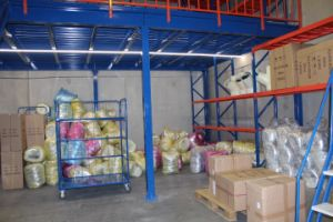 Steel Warehouse Floor Mezzanine Racking (EBIL-GLHJ) pictures & photos