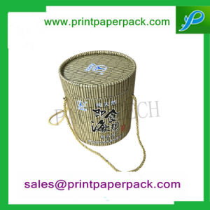 Custom Luxury Flower / Wine / Candy / Cake / Cosmetic / Candle / Perfume Jewelry Ribbon Packaging Round Hat Tube Paper Gift Packing Cardboard Box pictures & photos