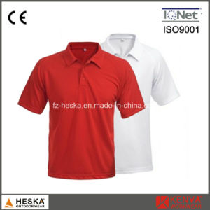 OEM Short Sleeve Mens Cotton Blank Polo Shirt pictures & photos