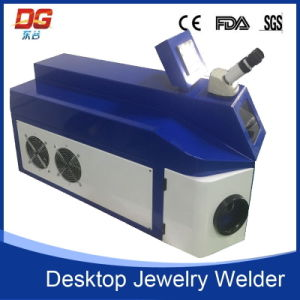 Good Desktop Jewelry Laser Welding Machine with CNC Certificate 100W pictures & photos