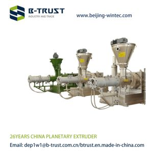 Ht 200 Planetary Extruder for Rigid PVC Calendering with 1200kg/H Capacity pictures & photos
