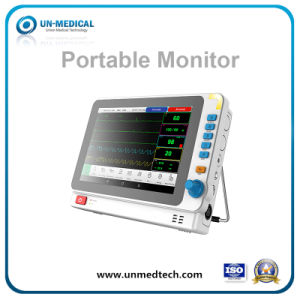 New Portable Beside Patient Monitor Support Car Charger pictures & photos