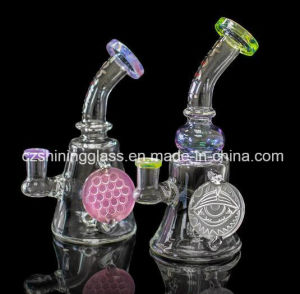Perfect Craft Colorful Smoking Glass Pipe Oil Rig DAB Rigs pictures & photos