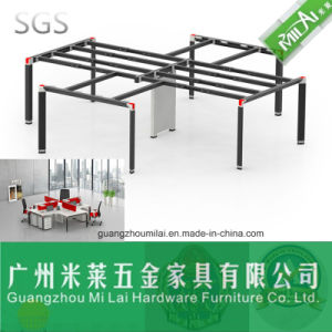 Office Furniture Computer Table Metal Frame Adjustable Leg for 4 Person pictures & photos