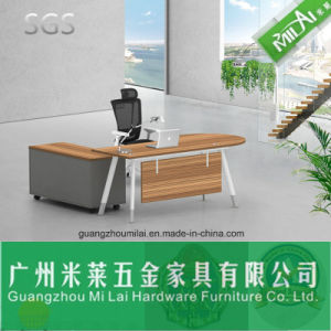 Elegant Modern Executive Office Table Furniture with Stainless Steel Leg pictures & photos