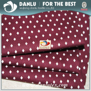 Elastic Poplin Fabric with Diamond Printed for Shirt pictures & photos