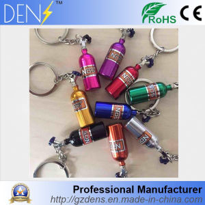 Nos/Nitrogen Bottle Metal Key Holder Car Modified Turbocharged Key Chain pictures & photos