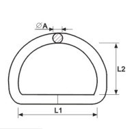 Bag Parts & Accessories Steel or Stainless Steel D Ring pictures & photos