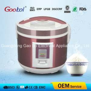 Square Panel Deluxe Rice Cooker with Pink Color Stainless Steel pictures & photos