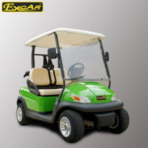 China Wholesale 2 Seater Electric Golf Cart pictures & photos