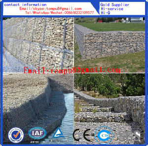 Metal Cage Wall and Gabion Basket for Gabion Box pictures & photos