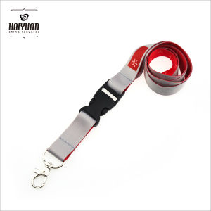 Full Color Sublimation Printing Lanyard with Plastic Buckle pictures & photos