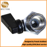 High Performance Small Brass Ball Valve with Black Handle pictures & photos