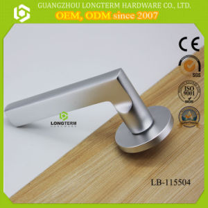 Privacy Door Security Entry Lever Mortise Hotel Door Handle Locks pictures & photos