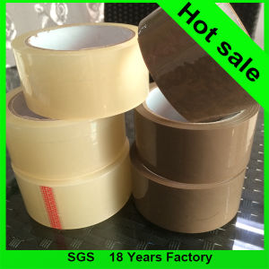 Brown and Transparent BOPP Packing Adhesive Tape pictures & photos