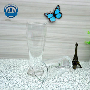 310ml High Grade Lead-Free Toughened Glass, High Temperature Resistant Thick Bottom Juice Cup, Milk Cup, Beverage Cup, Straight Cup, Beer Cup pictures & photos