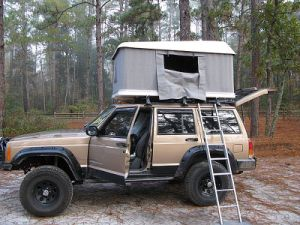 2017 SUV Overland Camping Outdoor Fabric Roof Top Tent for Car pictures & photos