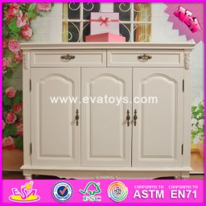 2016 Wholesale Wooden Furniture Cabinets, White Solid Woodenfurniture Cabinets, Best Design Wooden Furniture Cabinets W08h063 pictures & photos